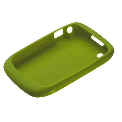 Blackberry Curve 8520 Skin (BlackBerry Silikonhülle (Skin) für BlackBerry Curve 9300 / 8520, grün)