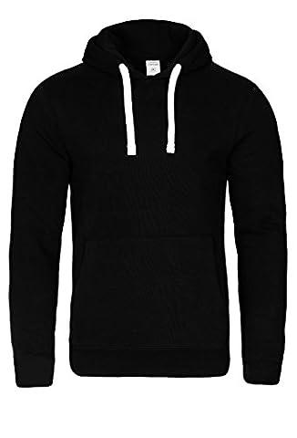 Casual Standard Hoodie Herren Kapuzenpullover Sweatshirt Kapuzenpulli Pullover mit Kapuze (L,