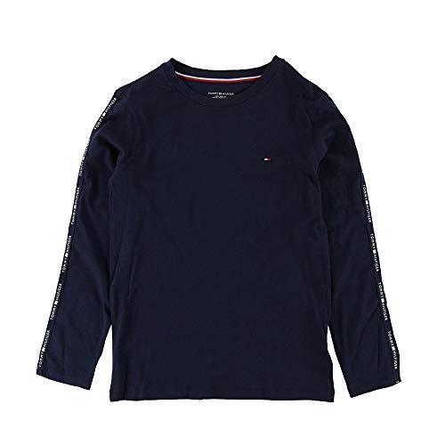 Tommy Hilfiger Boys Modern Classic Long Sleeve Tee - Navy Blazer Age 12-14