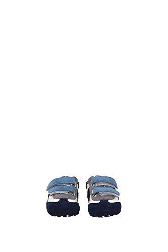 UXB00G0B01076I98JK Tod's Sneakers Kind Wildleder Blau Blau