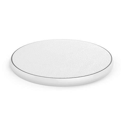 QI Ladegerät - 10w Watt Quick Charge - Kompatibel mit iPhone X, XS, XS Max, XR, 8, iPhone 8 +, iPhone X, Aufladegerät, weiß, Ladestation für alle Smartphones mit Qi Ladetechnik - QI Charger 10W Weiß