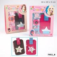Depesche 7952 TOPModel Kreativset Handytasche, sortiert, Candy\'s oder Christy\'s Favourite