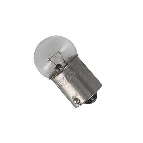 Xfight-Parts Birne 12V 10W Blinker Sockel BA15S Pin 180 Grad mit E-Marke 33905116-0002 für Aprilia SR50 Bj.03-08 nicht DITECH (Sn 8 Licht)