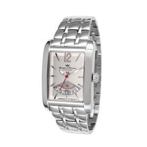 Yonger & Bresson YBH-8335-02M - Orologio da polso, uomo, acciaio inox, colore: argento