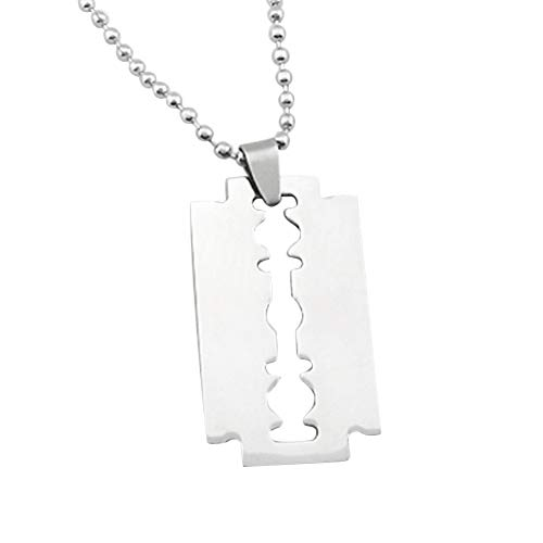 FyaWTM Collar Colgante For Colgante maquinilla Afeitar