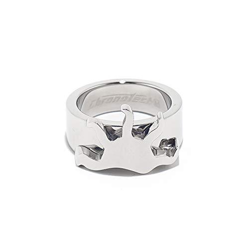 Chronotech 18300601011 anello da donna in acciaio colore argento taglia 11