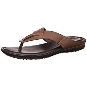 Bata Men's Supremo Leather Hawaii Thong Sandals