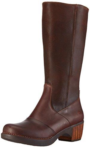 artZUNDERT - Stivali alti con imbottitura leggera Donna , Marrone (Marrone), 40