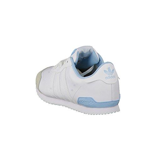 adidas Originals Zx 700 Be Lo Sneaker Basse Donna ftwr white/ftwr white/blush blue s15-st
