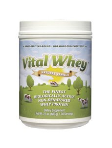 Preisvergleich Produktbild Biologisches Vital Whey - 600 gramm - Vanilla
