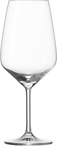 Schott-Zwiesel-115672-Bordeaux-Taste-130-Rotweinglas-Bleifreies-Kristallglas-transparent-95-x-95-x-237-cm-6-Einheiten