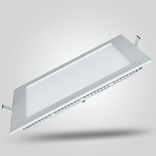 Mogicry Downlight Cuadrado Ultrafino 3/4/6/9/12/15/18W Downlamp Empotrable en el Techo de la...
