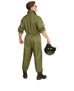 FIGHTER JET PILOT MAN LARGE FOR FANCY DRESS COSTUME