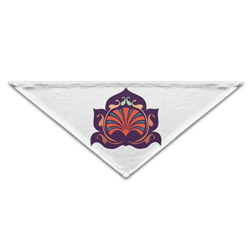 Sdltkhy Ancient Mystical Symbols Triangle Pet Scarf Dog Bandana Pet Collars Dog Cat - Birthday (Halloween Großhandel Uk Party Supplies)