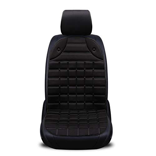 Tvird 12V Seggiolino Auto Anteriore riscaldato Cuscino Pad riscaldato Singolo Sedile Coprisedili e accessori comfort Nero