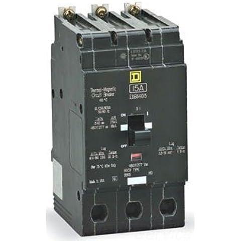 Square D Circuit Breaker, 50 Amp, 3-Pole, EDB34050 by Square D