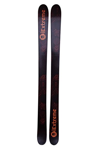 iExtreme Unisex Freestyle Ski, Schwarz/Gold, 160 -