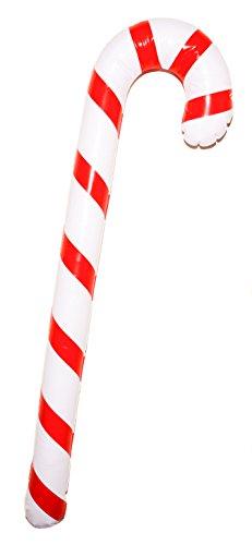 Storm&Lighthouse Gonfiabile Natale Bastoncino di Zucchero (90cm) - Decorazione della Festa di Natale / Accessorio in Maschera