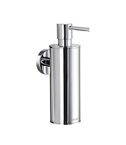 SMEDBO Home verchromtem Seife und Lotion Spender, Silber - Smedbo Chrom-badezimmer-seifenspender