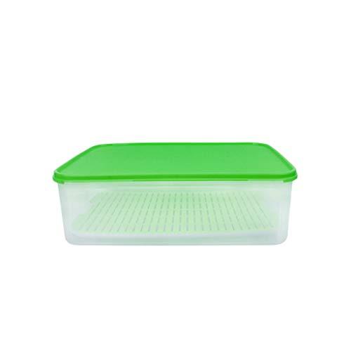 Food Storage Box Großraum-Obst- und Gemüsekorb-Aufbewahrungsbox Filterfach Versiegelte Aufbewahrungsbox Food Storage Box Cover