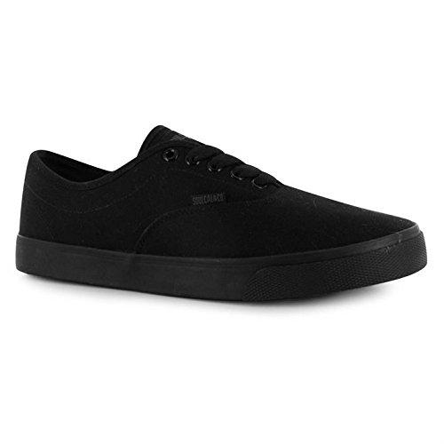 Coucher de soleil soulcal Homme Chaussures à lacets toile fermeture Casual Bold Oeillets Noir/noir
