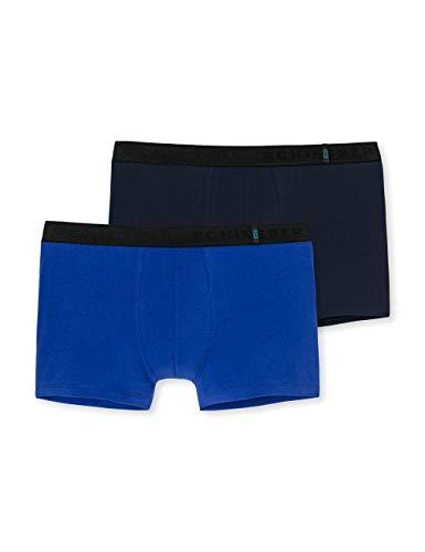 Schiesser Herren 95/5 Short Boxershorts, Mehrfarbig (Sortiert 1 901/37), X-Large (erPack 2 -