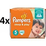 Pampers - Sleep & Play Economy Junior 5 -168 Stück