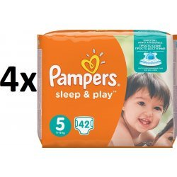 Pampers - Sleep & Play Economy Junior 5 -168 Stück