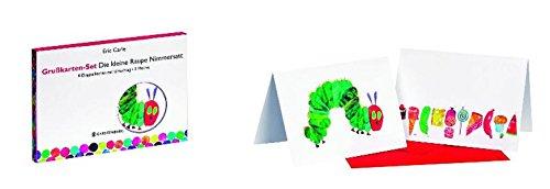 Grußkarten-Set Die kleine Raupe Nimmersatt