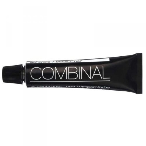 Combinal Dye For Eyebrows and Eyelashes Black Tint ()