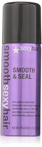 sexyhair Smooth & Seal Anti-Frizz Shine Spray, 1er Pack (1 x 50 ml) (Bed Headrush Head)