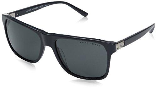 Ralph lauren 0rl81528487, occhiali da sole uomo, grigio (dark grey), 59