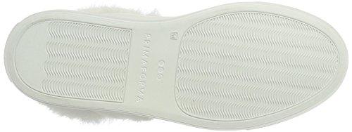 Prima Forma Unisex-Erwachsene Primaforma Derbys Weiß (WHITE/WHITE FUR)