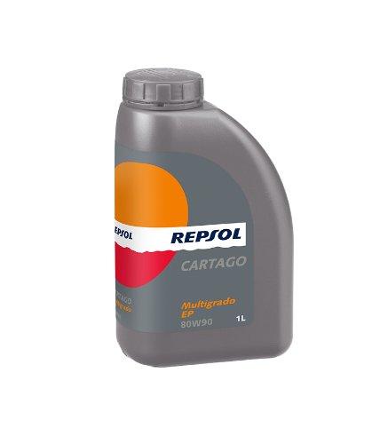 Repsol Cartago Multigrado EP 80W90 trasmissione manuale liquido, 1 L