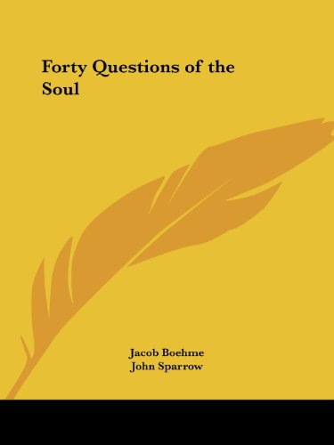 Forty Questions Of The Soul