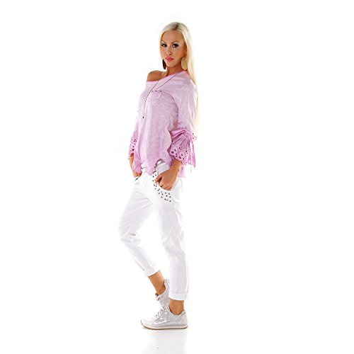 Made Italy - Chemisier - Femme Lilas