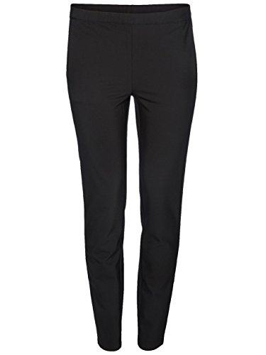 Vero Moda Damen Hose 10125070 VMANNA NW ANCLE PANT NFS black (N10)