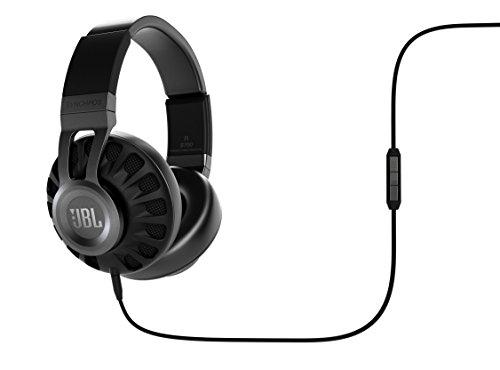 Preisvergleich Produktbild JBL Synchros S700 Over-Ear Stereo-Kopfhörer (Robustem Stahl-Kopfbügel,  Weichen Leder-Ohrpolstern,  Integrierter Fernbedienung,  Inkl. Transportetui,  Kompatibel mit Apple iOS / Android Geräten) schwarz