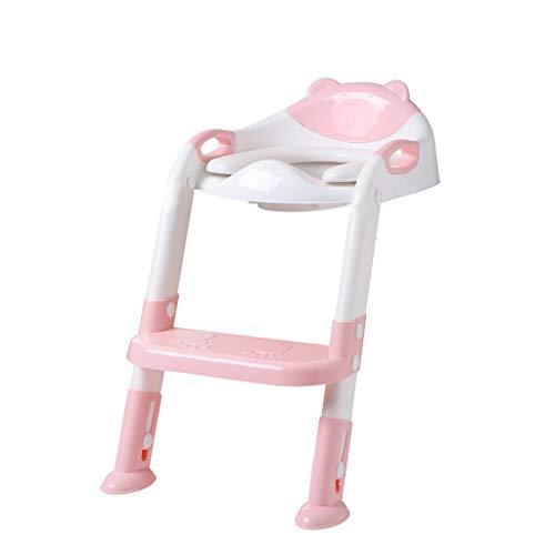 Baby-Kindertopf-Toiletten-Trainer-Sitz-Schritt-Hocker-Leiter-justierbarer Trainings-Stuhl Malloom (Hocker Stuhl Schritt)
