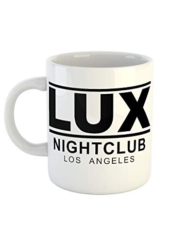 clothinx Kaffeetasse mit Aufdruck Lucifer LUX Club