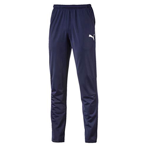 Puma Herren LIGA Training Pant Core Hose, blau(Peacoat White), M
