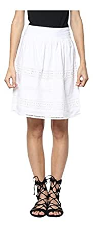 RARE Synthetic a-line Skirt