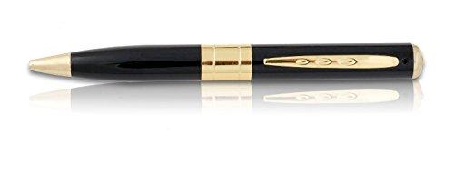 Aigo Dgtl Hidden Camera Spy Pen Recorder Dvr Gold Vga 720X480P Best Cam Kit, No Lights Recording, Up To 32Gb Tf Card (Not Included)