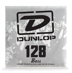 Dunlop DL Str DBS 128Single String Bass Steel 128