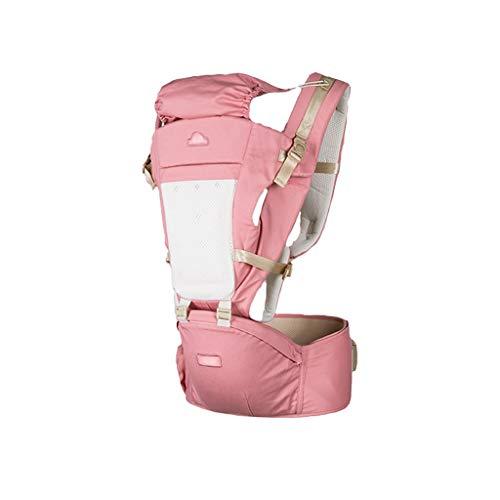 LHGW YBYEBD Slim Babytragetuch für Autositze, Vorder- und Rückseite, atmungsaktiv, verstellbar, Wickeltuch, ergonomisch, stillend, Babytragetuch