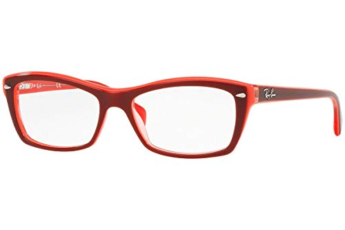 Ray-Ban Damen 0rx 5255 5777 51 Brillengestelle, Top Red/Pink/Fuxia