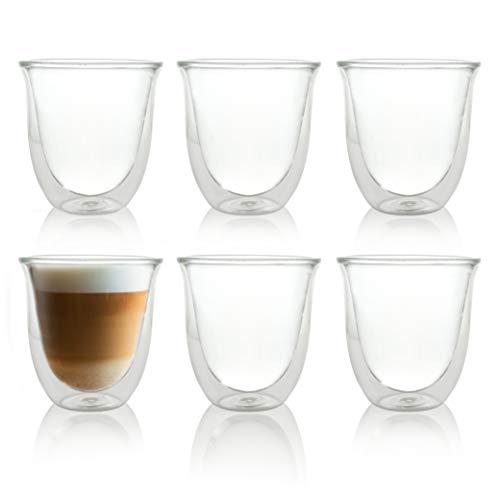 Caffé Italia Napoli 6 Juego Vasos Capuchino 250 ml