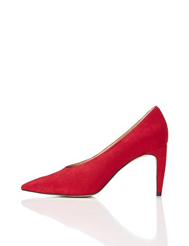 FIND Damen Pumps, Rot, 38 EU