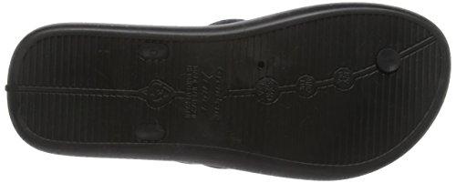 Unbekannt Herren Strike Dusch-& Badeschuhe Black (Black 23376)