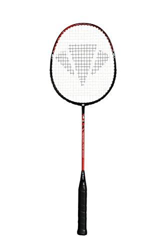 CARLTON Aeroblade 6000 Badmintonschläger, Schwarz/Rot, Einheitsgröße